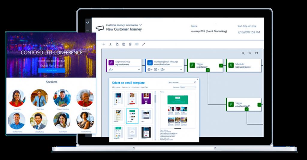 Screenshot Microsoft Dynamics for Marketing